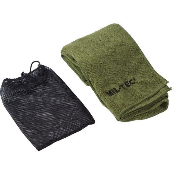Mil-Tec Microfiber Towel 120cm x 60cm Olive