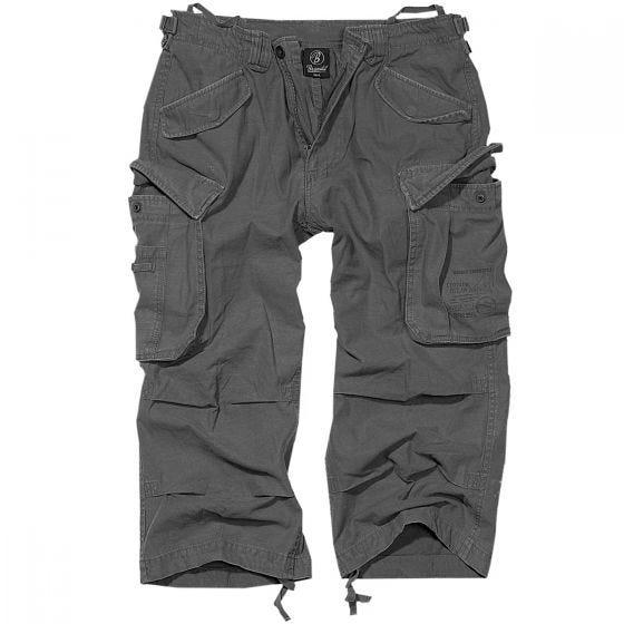 Brandit Industry Vintage 3/4 Shorts Anthracite