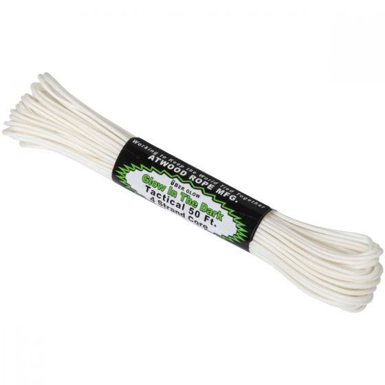 Atwood Rope 50ft 275 Glow In The Dark Cord White