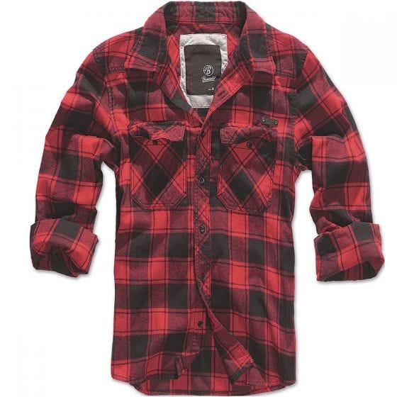 Brandit Check Shirt Red / Black