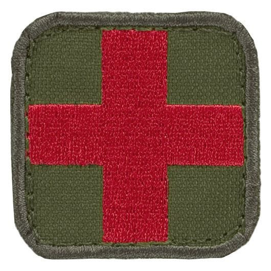 Condor Medic Patch Olive Drab/Red