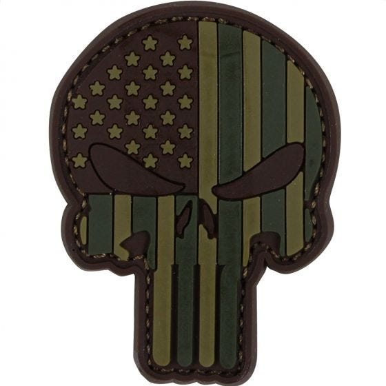 Condor Punisher PVC Patch MultiCam
