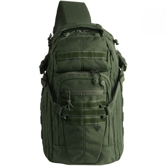 First Tactical Crosshatch Sling Pack OD Green