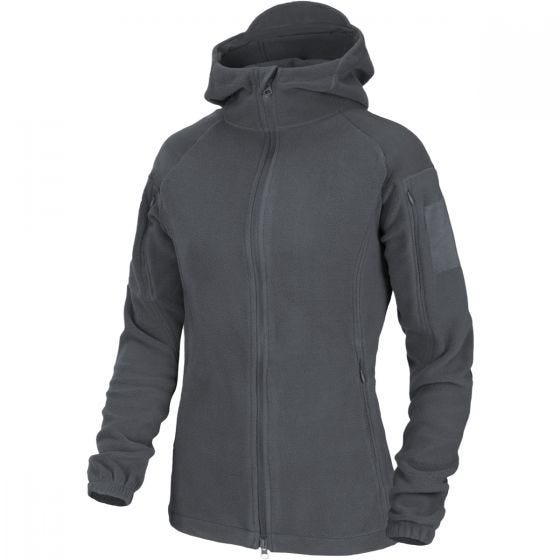 Helikon Womens Cumulus Heavy Fleece Jacket Shadow Grey