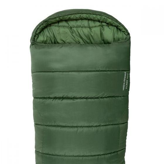 Highlander Phoenix Flame 400 Mummy Sleeping Bag Olive Green