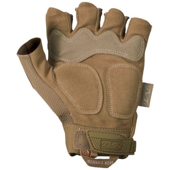 Mechanix Wear M-Pact Fingerless Gloves Coyote