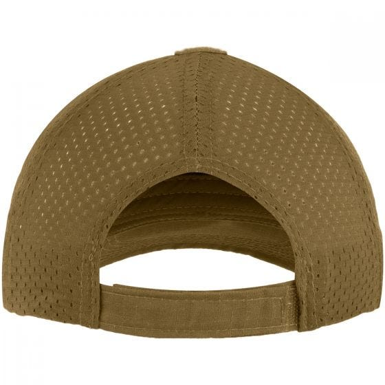 Mil-Tec Net Baseball Cap Dark Coyote