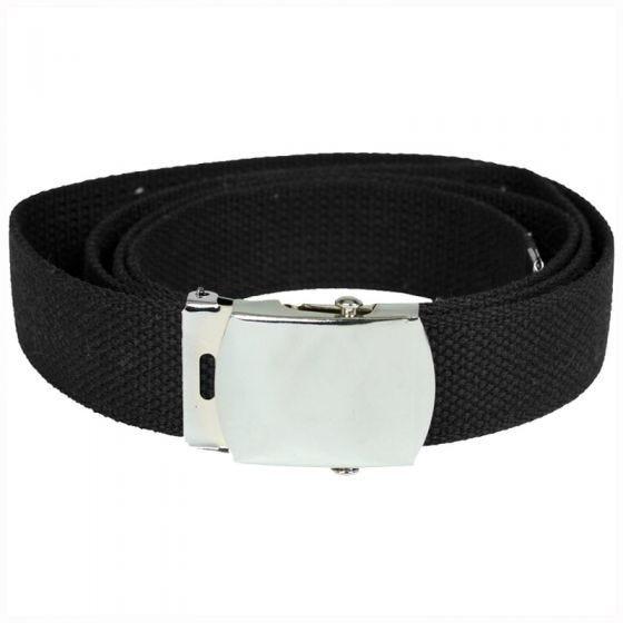 Mil-Tec Webbing Belt Black