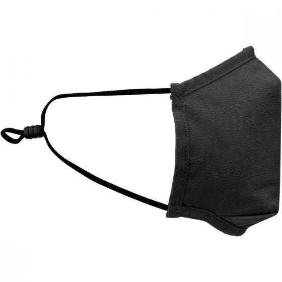 Mil-Tec Mouth/Nose Cover Square Shape Ripstop Black