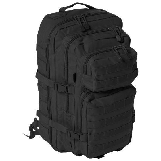 Mil-Tec One Strap Large Assault Pack Black