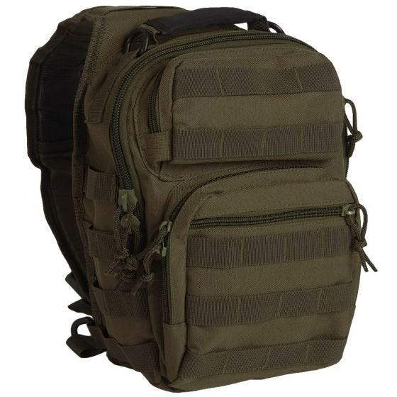 Mil-Tec One Strap Small Assault Pack Olive