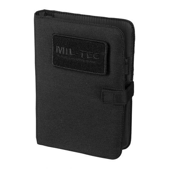 Mil-Tec Tactical Notebook Small Black