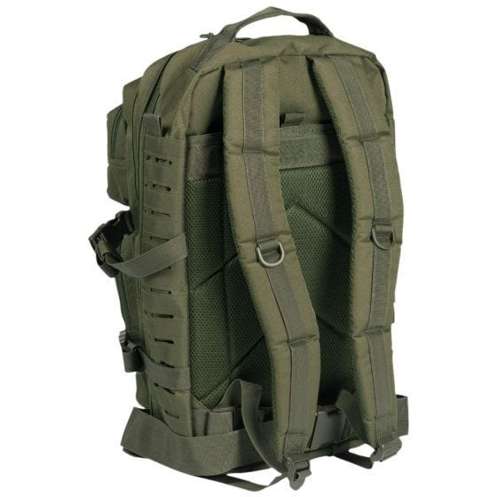 Mil-Tec US Assault Pack Large Laser Cut Olive