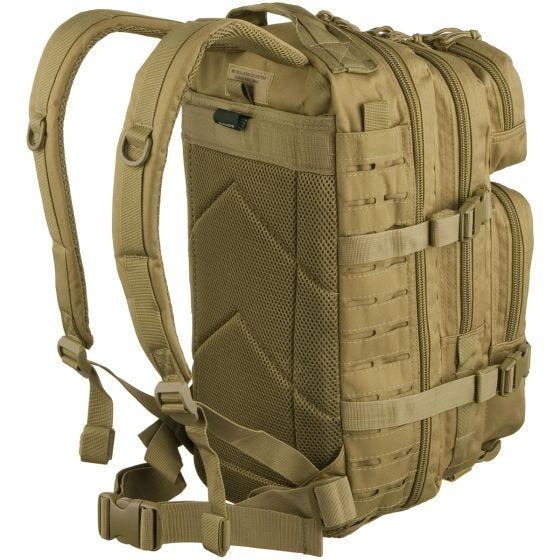 Mil-Tec US Assault Pack Small Laser Cut Coyote