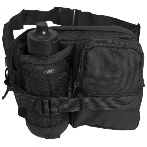 Mil-Tec Waist Bag with Canteen Black