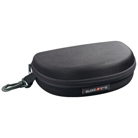 Swiss Eye Hard Case for Glasses and Lenses Black