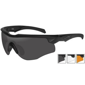 f92704088faf3 Quick View Wiley X WX Rogue Comm Glasses - Smoke Grey + Clear + Light Rust  Lens