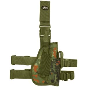 MFH Right Leg Holster Flecktarn