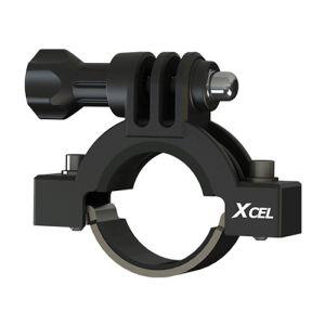 "Xcel 0.91"" to 1.38"" Diameter Action Camera Mount Black"
