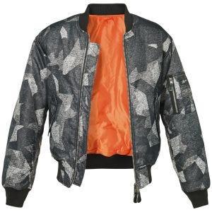 Brandit MA1 Camo Jacket Night Camo Digital
