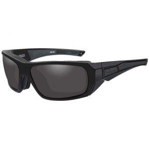 Wiley X WX Enzo Glasses - Smoke Grey Lens / Matte Black Frame