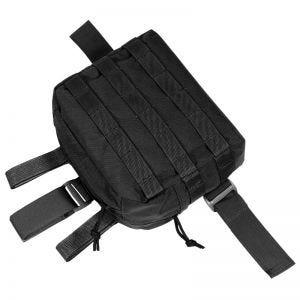 Flyye Drop Leg Accessories Pouch MOLLE Black