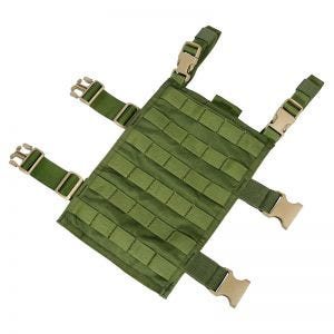 Flyye Right-Angle Leg Panel MOLLE Olive Drab
