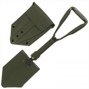 MFH German Army Folding Shovel with Cover Olive