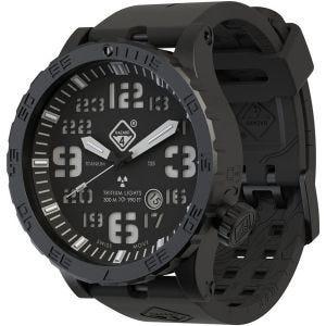 Hazard 4 Heavy Water Diver Titanium Tritium Watch Nightwatch Green/Yellow