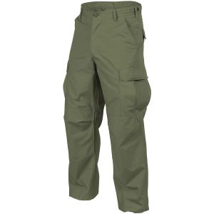 Helikon BDU Trousers Cotton Ripstop Olive Green
