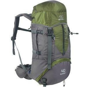 Highlander Summit 40L Backpack Green