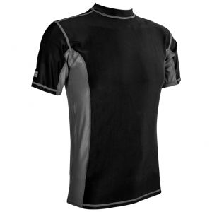 Highlander Men's Pro Comp Short Sleeve Top Black / Grey