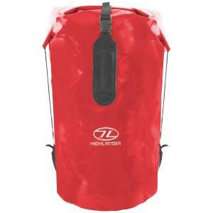 Highlander Troon Drybag 70L Duffle Bag Red