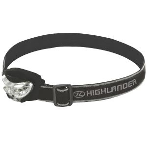 Highlander Vision 2+1 LED Head Torch Black