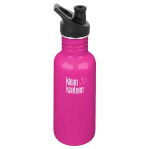 Klean Kanteen Classic 532ml Bottle with Sport Cap 3.0 Wild Orchid