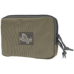 "Maxpedition Hook & Loop 5"" x 7"" Zipper Pocket Khaki Foliage"