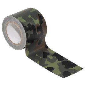MFH BW Fabric Tape 5cm x 5m Flecktarn
