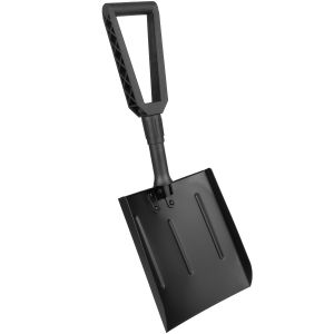 MFH Aluminium Folding Shovel Black