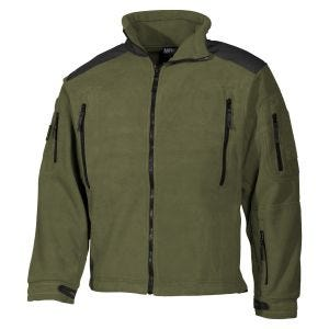 MFH Heavy Strike Fleece Jacket OD Green