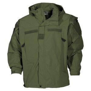 MFH US Soft Shell Jacket Level 5 OD Green
