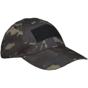 Mil-Tec Tactical Baseball Cap Multitarn Black