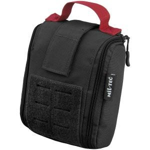 Mil-Tec Individual First Aid Kit Laser Cut Pouch Black