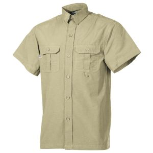 Fox Outdoor Short Sleeve Outdoor Shirt Khaki