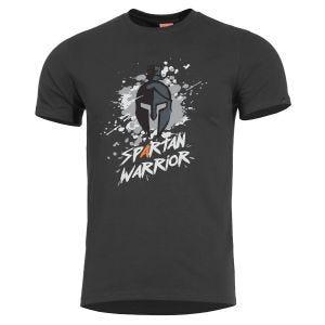 Pentagon Ageron Spartan Warrior T-Shirt Black