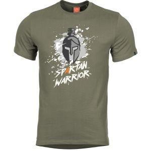 Pentagon Ageron Spartan Warrior T-Shirt Olive