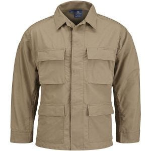 Propper Uniform BDU Coat Polycotton Ripstop Khaki