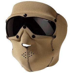 Swiss Eye SWAT Mask Pro with Ballistic Goggles Coyote