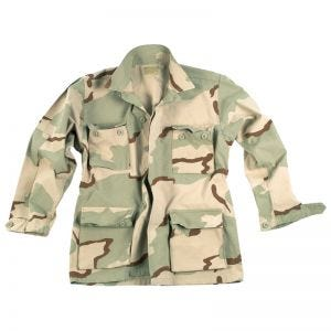Teesar BDU Shirt Ripstop Prewashed 3-Colour Desert
