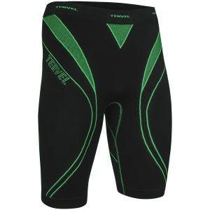 Tervel Optiline Running Shorts Black / Green