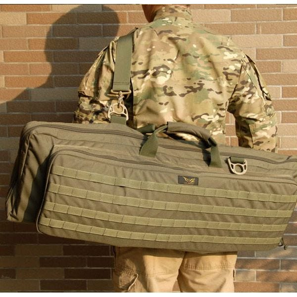Flyye Deformation Rifle Carry Bag MOLLE Coyote Brown